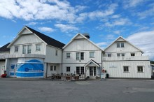 Norsk Havbruksenter on Torget island