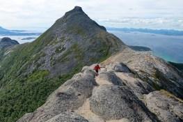 Towards Bjørnkjeften