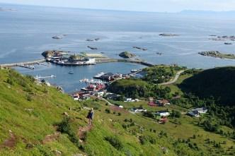 View towards Stø