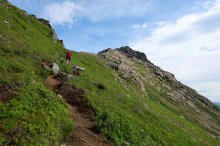 Descending from Sørkulen