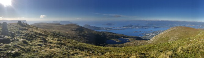 Iphone8 panorama from the top