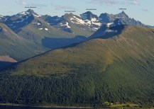 Very nice peaks, seen from Sulafjellet