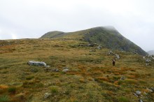 On our way up Myrkevassegga