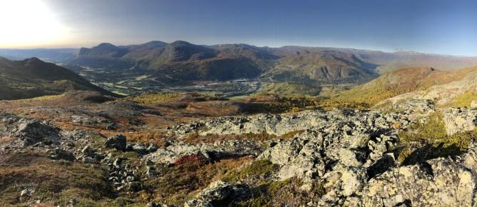 Hemsedal valley view