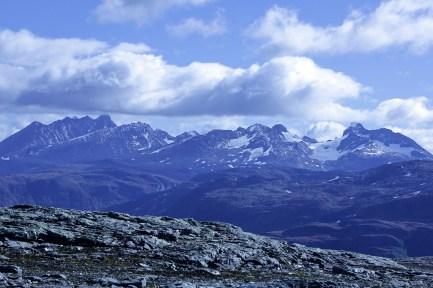 View towards Hurrungane