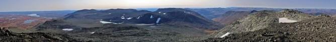 View from Veslebotnskarvet