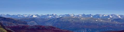Jorunheimen peaks