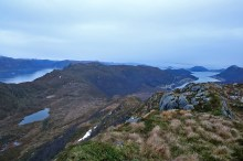 The ridge towards Veten