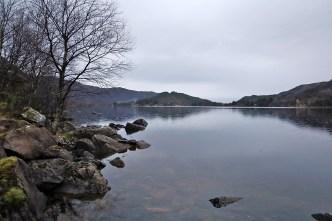 Along lake Skogevatnet