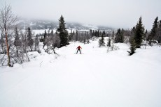 On our way to Bjørnahovda