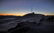 Approaching the top of Rjåhornet