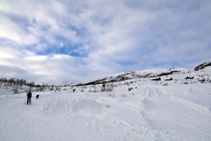 Blåfjellet high above us
