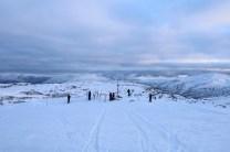 The top of Høgehaug