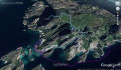 Tha kayak trip to Hestvika and the hike to Rødøyløva