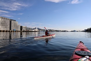 Seeing Brønnøysund from a new angle