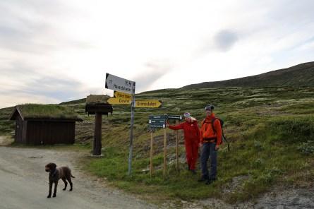 Back on the Grimsdalen road