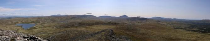 View towards Elgspiggen