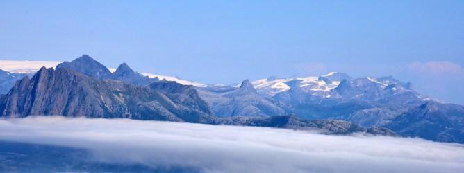 Mainland peaks