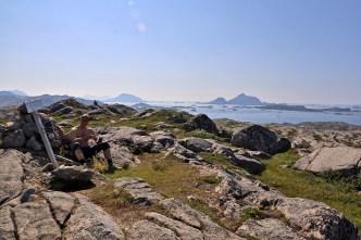 On top of Gjerdøyfjellet