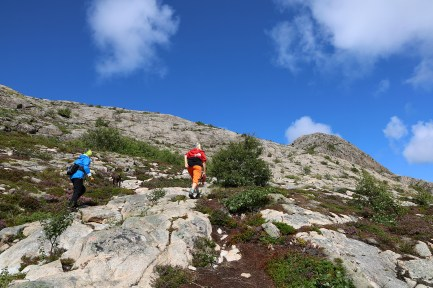 On our way to Torghatten