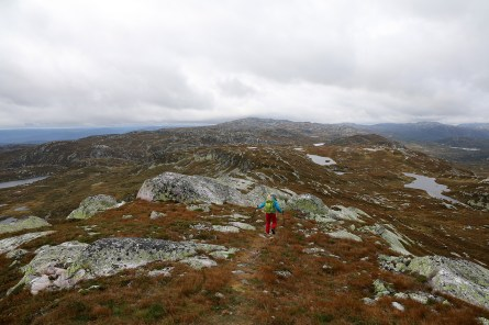 On our way to Nybufjellet