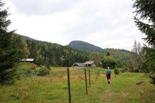 Arriving at Hoensætra - with Breidstulfjellet in the background