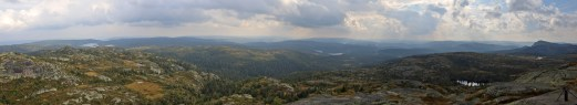 View from Styggmann (1/2)