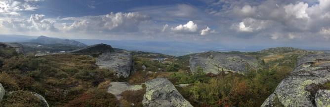 Iphone8 panorama from Styggmann
