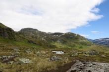 Mountains east of Rimmafjellet