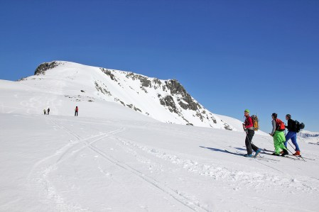 The final hill