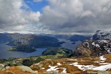 Dalsfjorden view