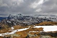 View towards Blægja