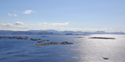 View towards Solund