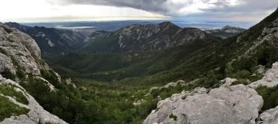 Overlooking Paklenica valley