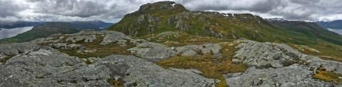 Landseterfjellet seen from Fagerlitinden