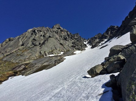 In the main couloir