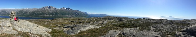 Hamnfjellet summit view (2/2)