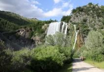 Krka river waterfall