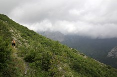 High above Paklenica
