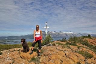 On top of Rødøyfjellet