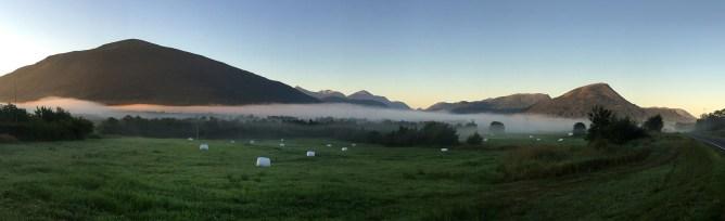 Hareidsdalen, early morning