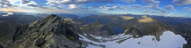 Saudehornet summit view (1/2)
