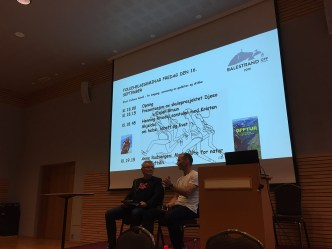 Kristen Skjedal interviewed