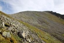 The ridge to Kjerringøyra