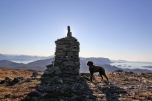 The cairn on Nonsfjellet