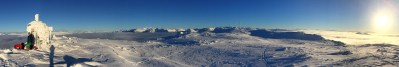 Summit panorama 1/2