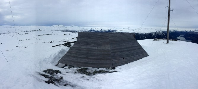 The hut on the top