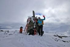 On top of Huguvarden