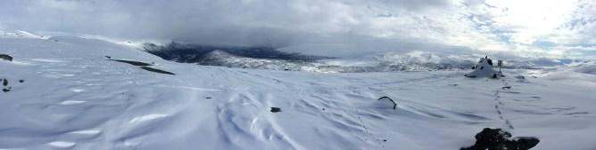 Veslefjell summit view (1/2)
