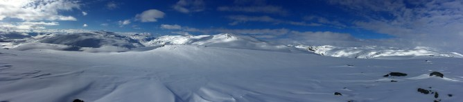 Veslefjell summit view (2/2)